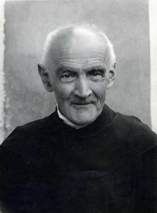 Der gütige Blick von Bruder Meinrad berührt die Menschen noch heute.