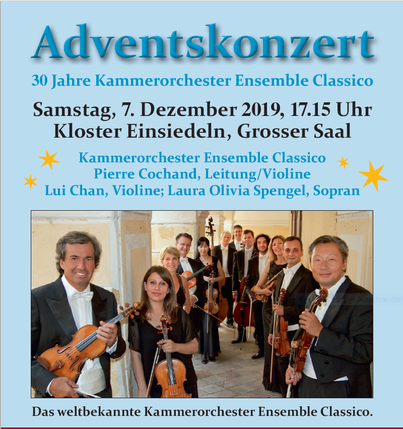 Adventskonzert 2019 im Grossen Saal