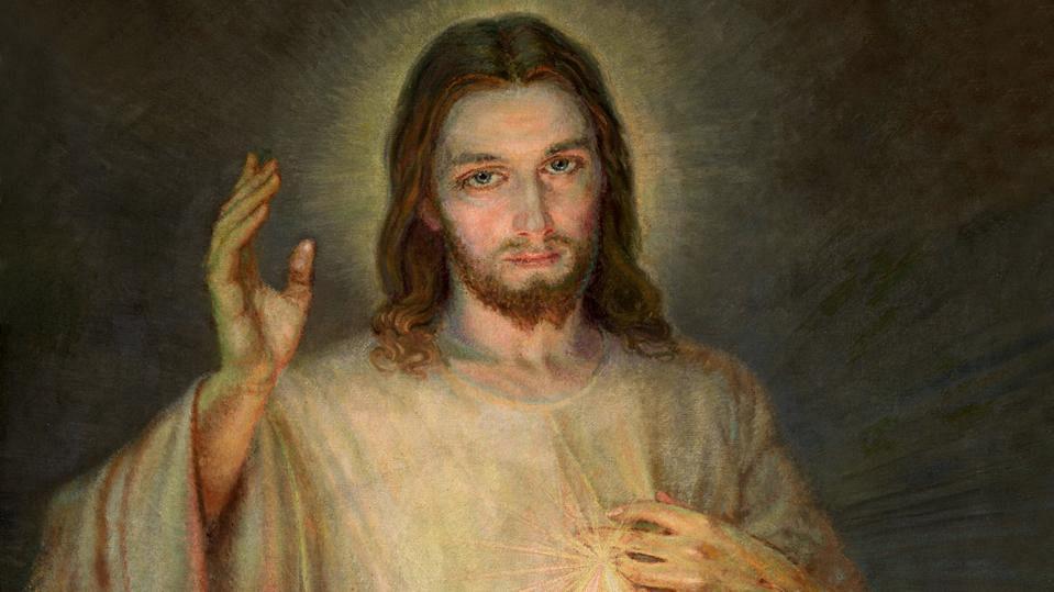 """Das Bild vom Barmherzigen Jesus mit der Unterschrift """"Jesus, ich vertraue auf dich!"""" ist weltberühmt. Über Geschmäcker lässt sich streiten. Doch für viele ist die Darstellung Jesu ein wirkliches """"Gnadenbild""""."""