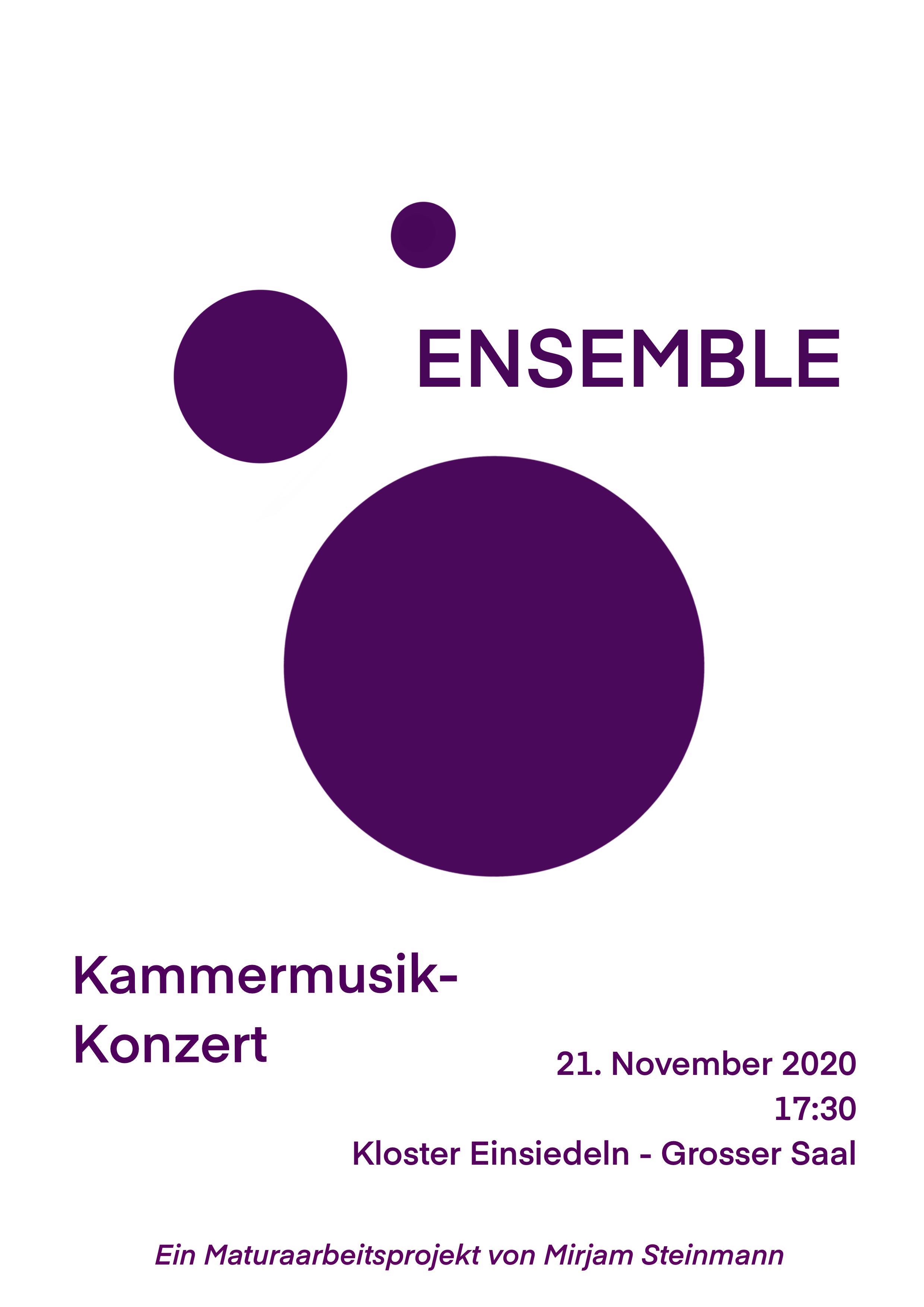 Ensemble – Kammermusik-Konzert