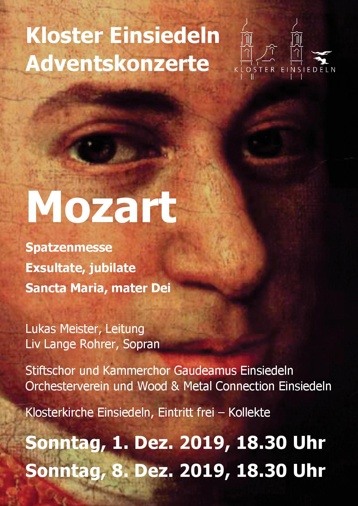 Adventskonzert des Stiftschors: Mozart