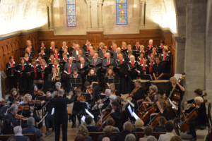 Chor L'Écho d'Onex in der Einsiedler Klosterkirche
