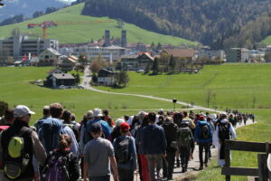 """Pilgerweg der Hoffnung"" am 2. Oktober: Zug-Einsiedeln"
