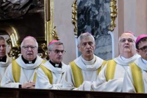 8. Juni: Vesper mit den Schweizer Bischöfen