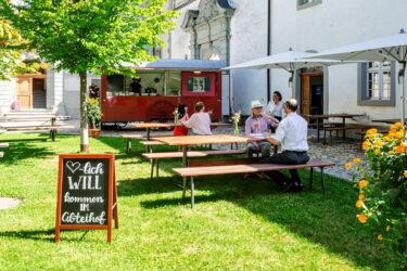 Gastwirtschaft im Abteihof