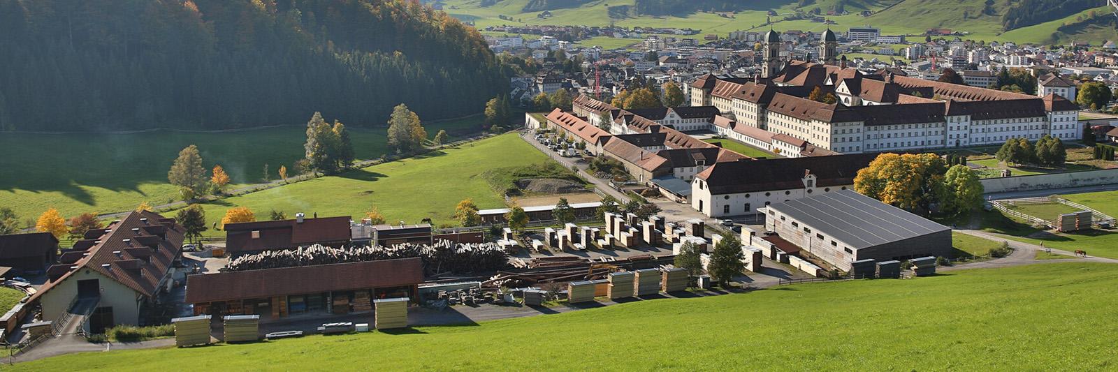 Sägerei Kloster Einsiedeln